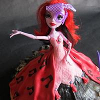 Monster High Doll Cakes by Tracey