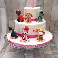 Paw Patrol cake by Sue