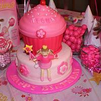 Pinkalicious Cake