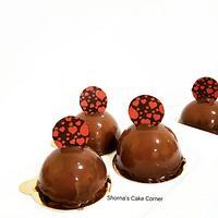 Mini Chocolate mousse cake