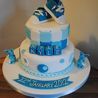Converse Christening Cake