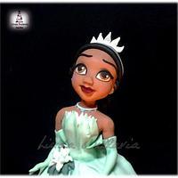 Princess Tiana by Linda Bellavia Cake Art