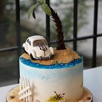 Vosvos Turtle Cake