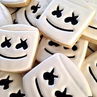 Marshmello Cookies