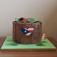 Puerto Rico Rises, Cake Collaboration