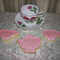 Tea Party Cookies (open to view more!) by Sarah