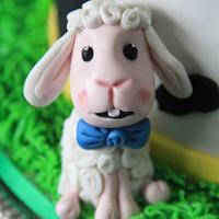Animal farm cake by Cake Addict