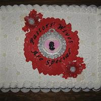 Pastors' Wives Appreciation Cake