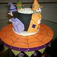 Halloween Witches Topper