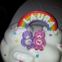 Carebear cake top