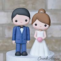 Cute Wedding Couple