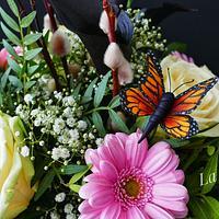 Butterfly gumpaste