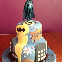 Batman Cake  by CupNcakesbyivy