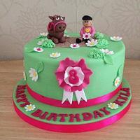 Cute Pony Cake