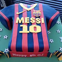 Barcelona Messi 10 Shirt