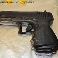 Glock Gun with Ammo Case by Jessica