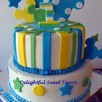 Baby Mickey Cake by Kathleen