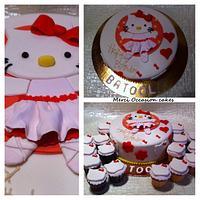 Hello katty cake