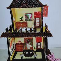 Fantasy World:Cakerbuddies Miniature Doll House:OKAERINASAI (JAPANESE HOUSE)