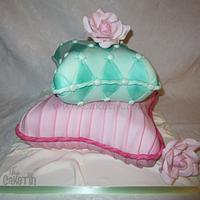 Satin Pillows  by The Cake Tin