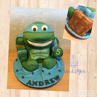 Leonardo the ninja turtle