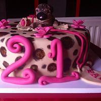 21st pug cake :)