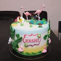 Tropical gâteau