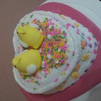 peep love cake