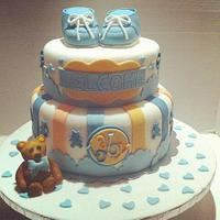 Sweet Prince inspired Baby Shower cake