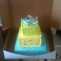 My little star babyshower cake