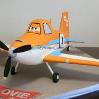 Gravity Defying 3d Dusty Plane Cake 2ft long