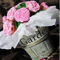 Flower Bouquet by NickySignatureCakes
