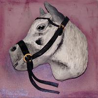 Carved White Horse