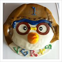 Pororo Birthday Cake by sweetpea417