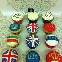 Queens Jubilee Cupcakes