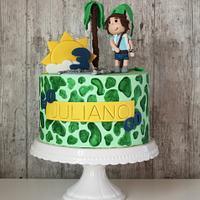 Diego Birthday Cake