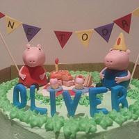 Peppa Pig Picnic by shazzytazzy