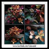 Woodland Autumn. Sugar Arrangement