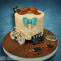 Hipster Cake