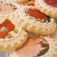 Floral Tea Cookies