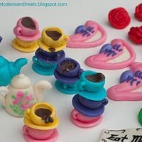 Alice in Wonderland Cupcake Toppers by Angela, SugarSweetCakes&Treats