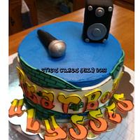 Beat Boy Cake by BlueFairyConfections