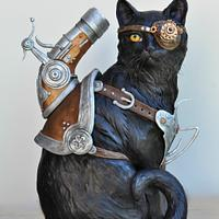 Trigger The Cat - Steam Cakes Steampunk Collaboration