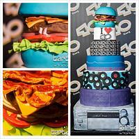 Radio and Music Cake
