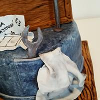 Handyman cake