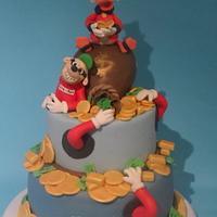 Paperon de Paperoni Cake