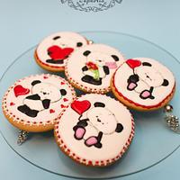 Lovely pandas