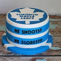Groom's Hockey Cake