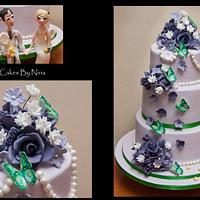 Anyone for Tennis wedding by Cakes by Nina Camberley