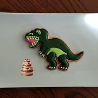 Dino cookie